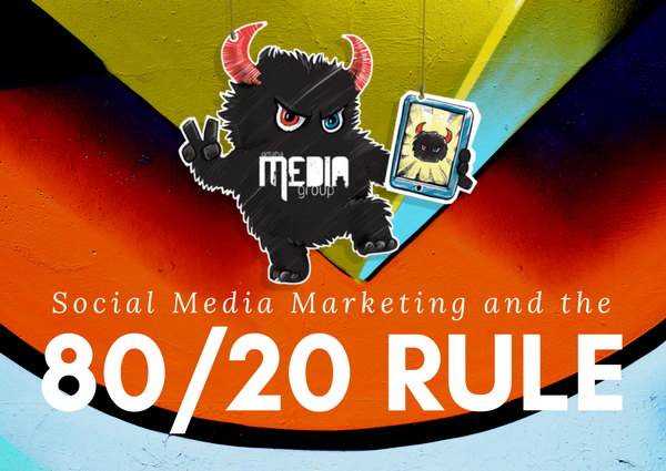 How social media marketing must utilize the 80/20 rule.