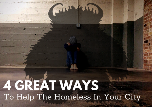 How to help the homeless in your city.
