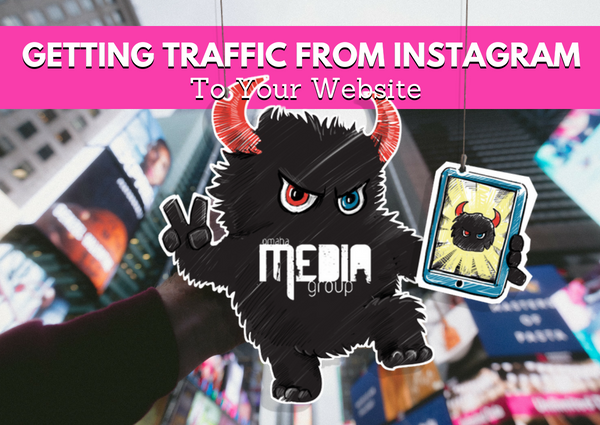 Your instagram can bring you website traffic.