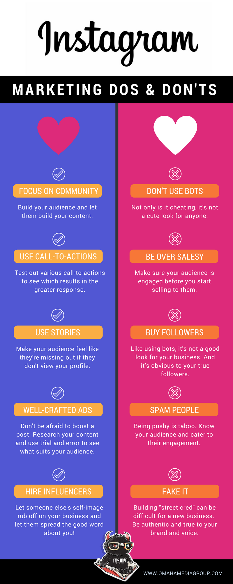 Instagram Marketing Dos and Don'ts