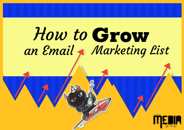 How to grow an email marketing list