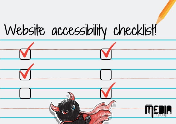 Website accessibility checklist!