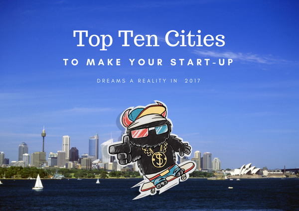 Top 10 cities for start ups