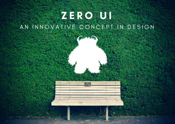 Zero UI is an innovative web design concept