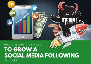 How long does it take to grow a social media following Pt. 3