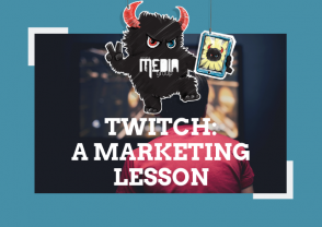 Twitch: It's actually a marketing lesson.