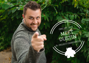 Meet Dustin! Junior Project Manager