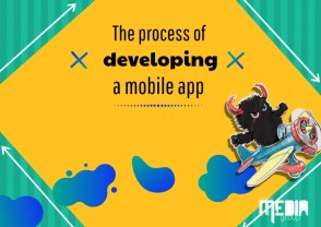 The process of developing a mobile app