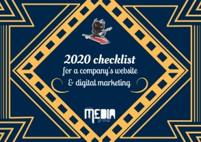 2020 checklist for a company's website and digital marketing
