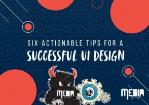 Six actionable tips for a successful UI design