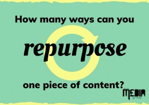 How many ways can you repurpose one piece of content?