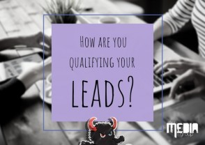 How are you qualifying your leads?