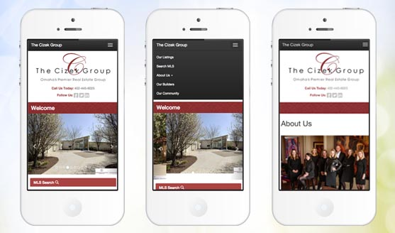 OMAHA MEDIA GROUP LAUNCHES THE CIZEK GROUP MOBILE