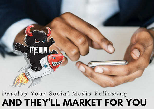 Grow your following with social media.