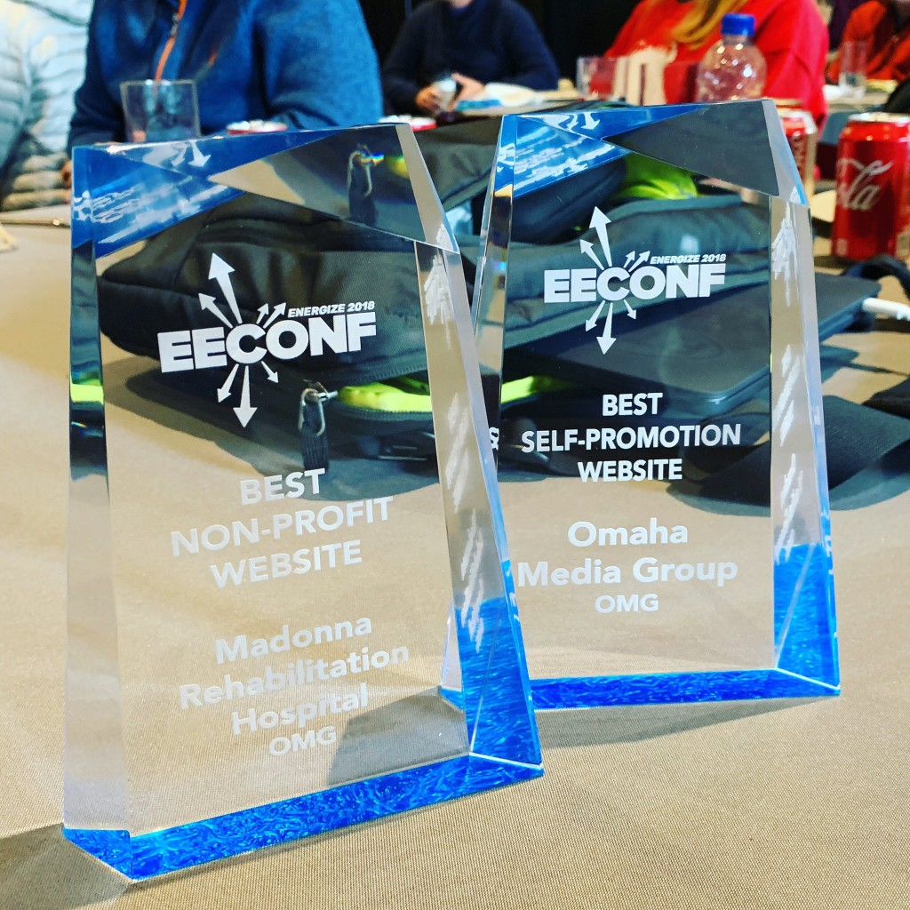 EECONF 2018 - Best Self-Promotion & Best Non-Profit Website Omaha Media Group