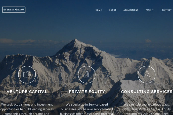 Everest Group Website