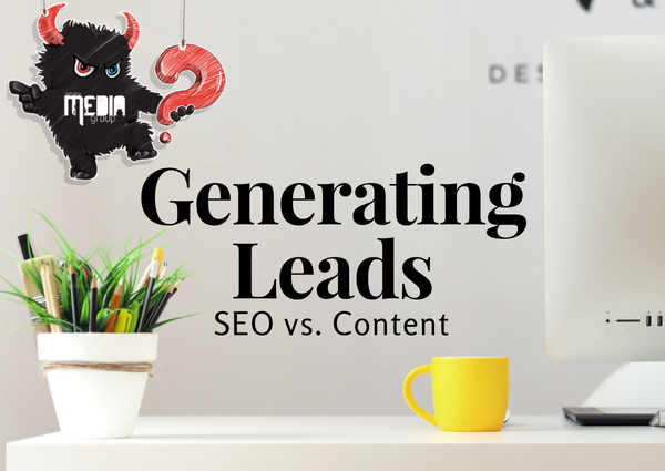 Does SEO or content generate more leads?