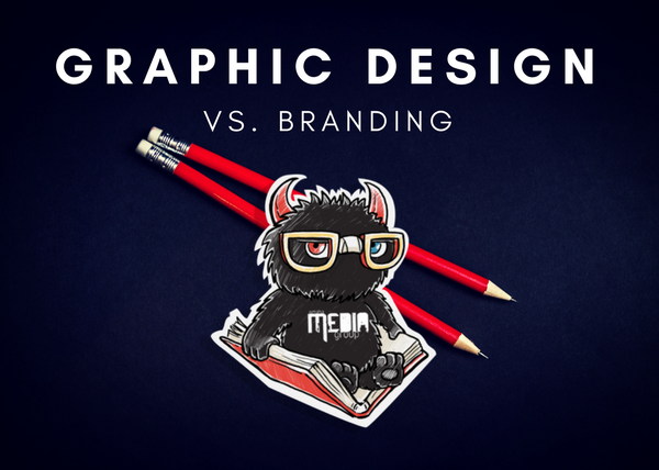 What is the difference between graphic design and branding?
