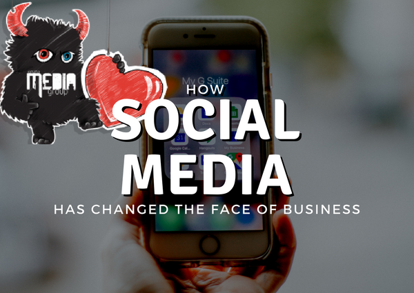 Social media changes the face of business.