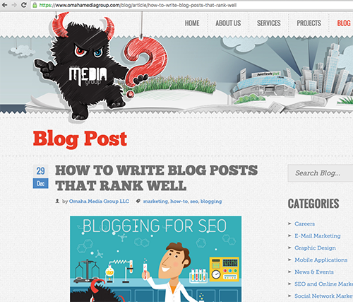Master of your domain blogging