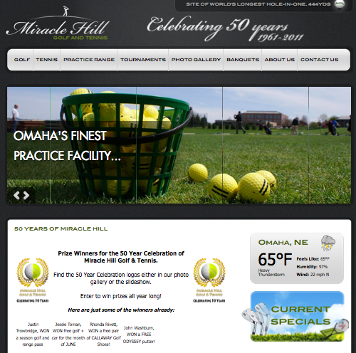 Product Launch - Miracle Hill Golf & Tennis
