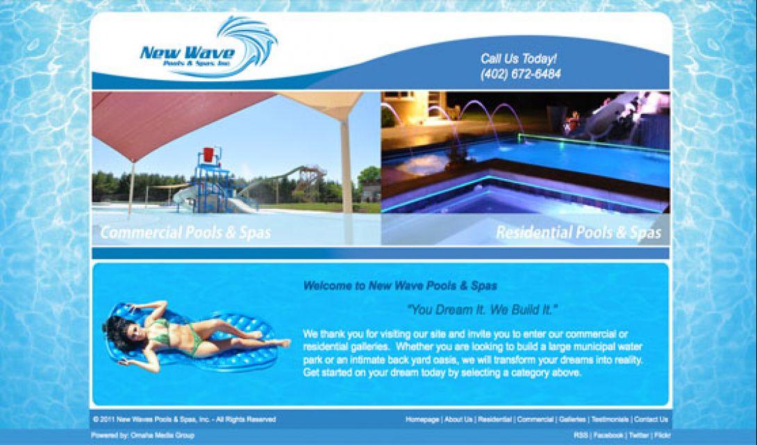 New Wave Pools & Spas - 1