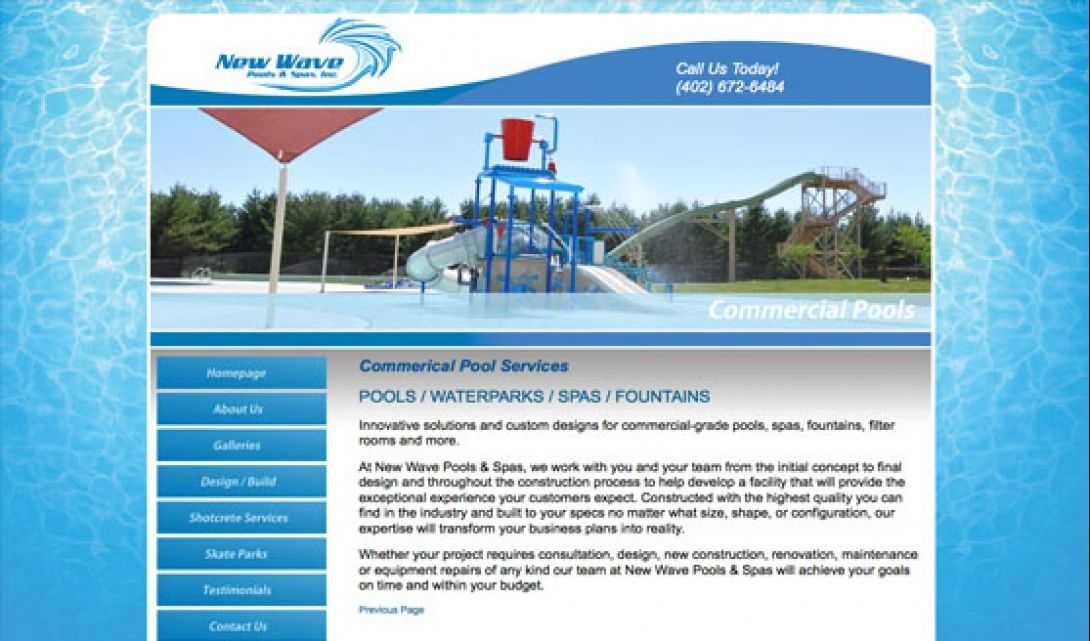 New Wave Pools Spas Omaha Media Group