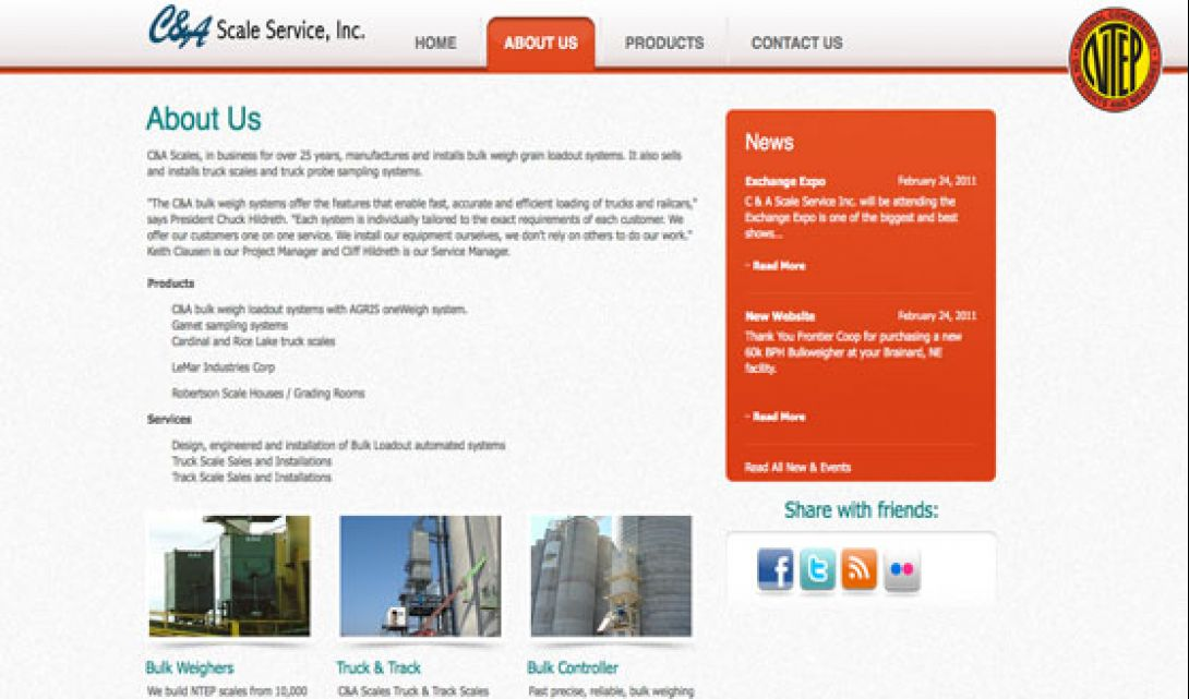 C&A Scale Service - 3