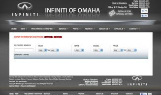 Infiniti of Omaha Auto Search