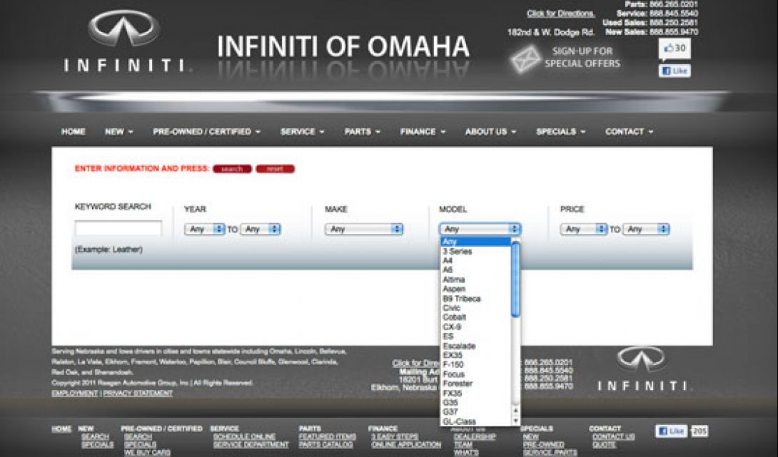 Infiniti of Omaha Auto Search - 5