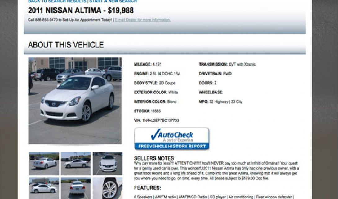 Infiniti of Omaha Auto Search - 6