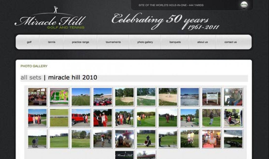 Miracle Hill Golf + Tennis Center - Website & Logo Design, v1.0 - 3