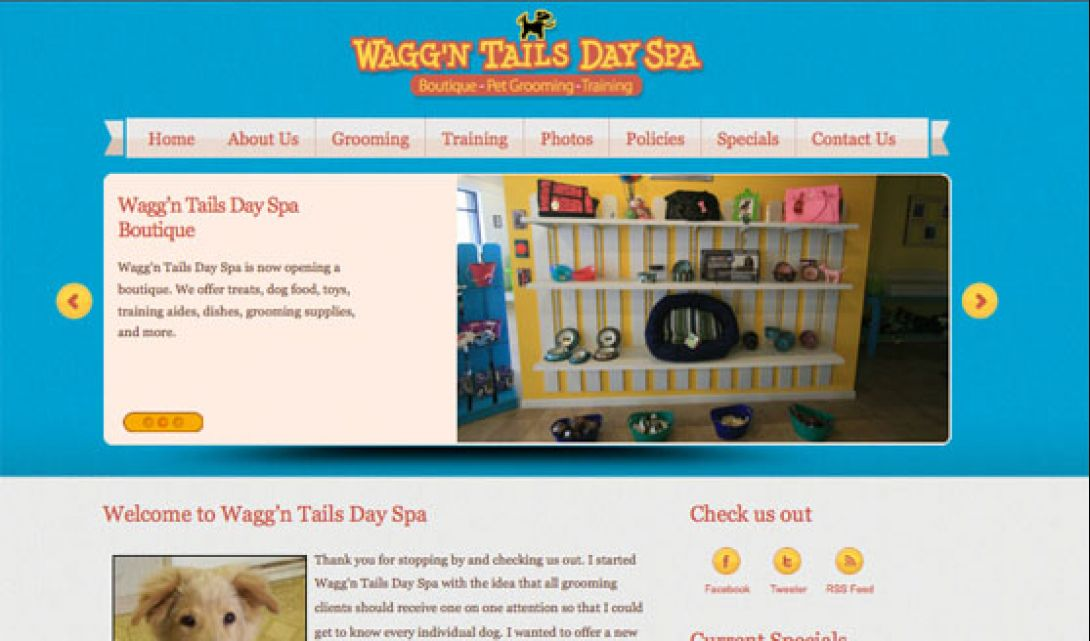Wagg'n Tails Day Spa - 1