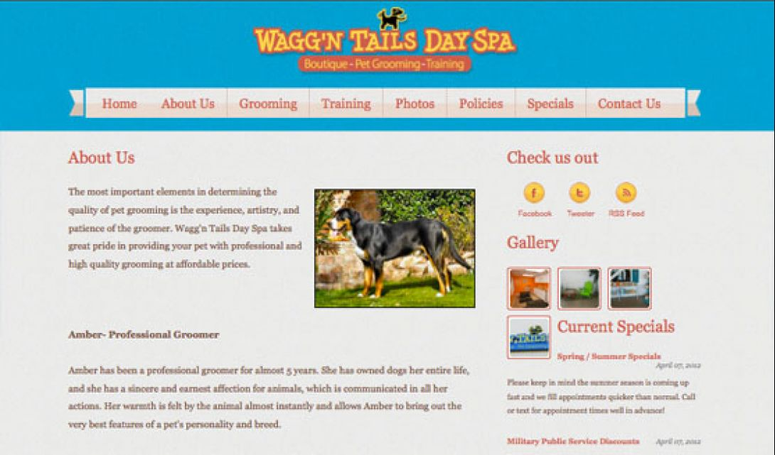 Wagg'n Tails Day Spa - 2