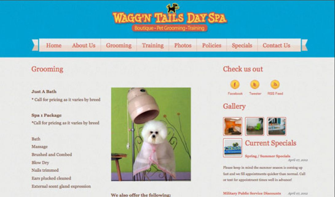 Wagg'n Tails Day Spa - 3