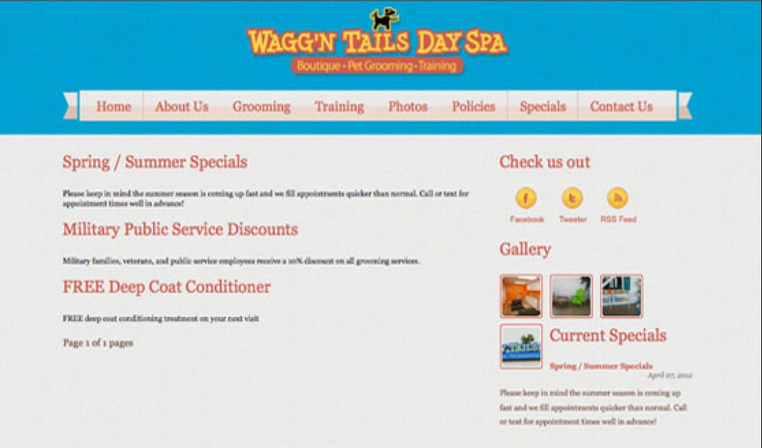Wagg'n Tails Day Spa - 7