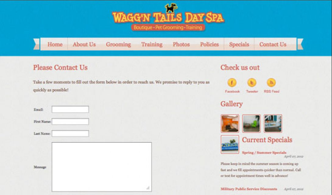Wagg'n Tails Day Spa - 8