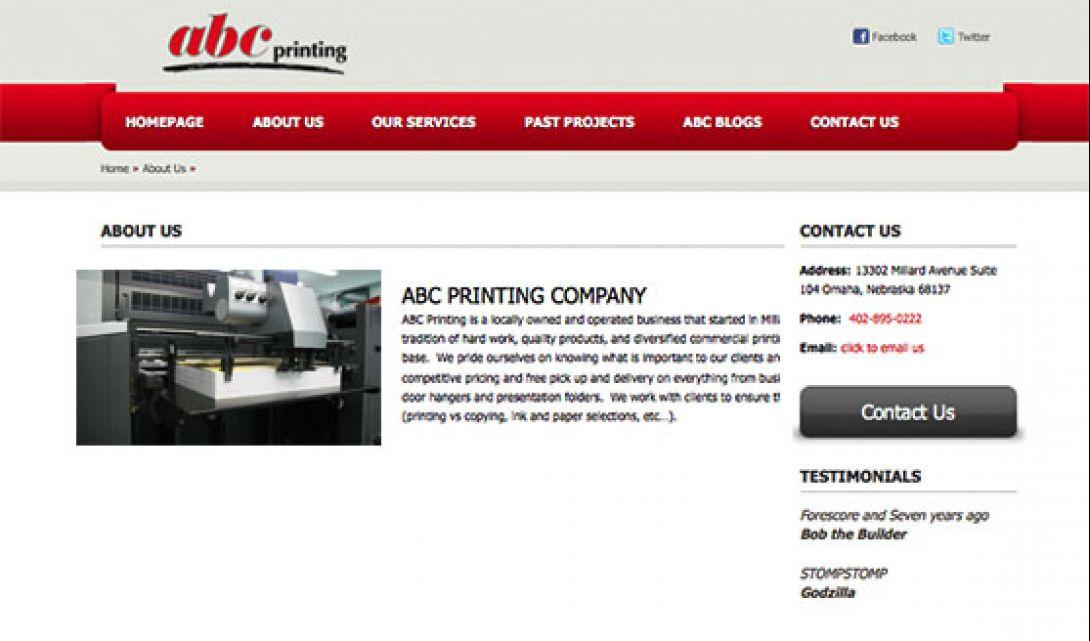 ABC Printing - 2