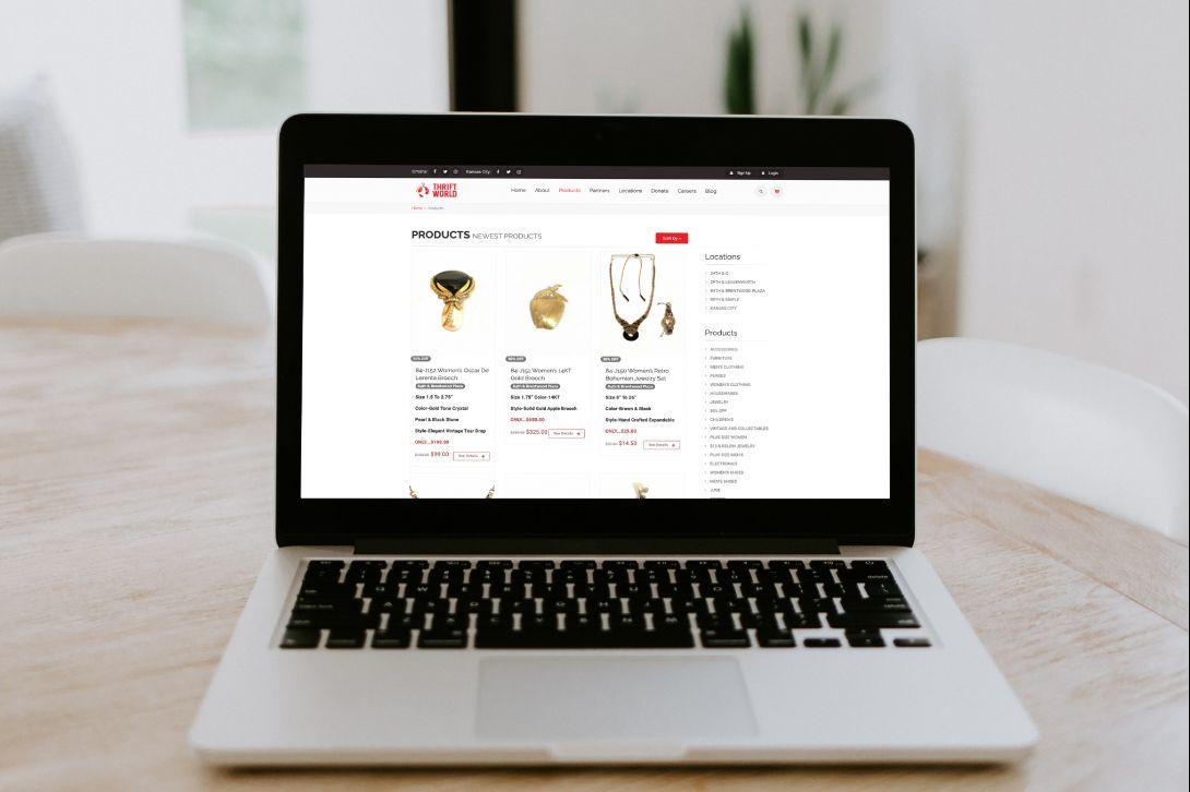 Thrift World Ebay Integration - 1