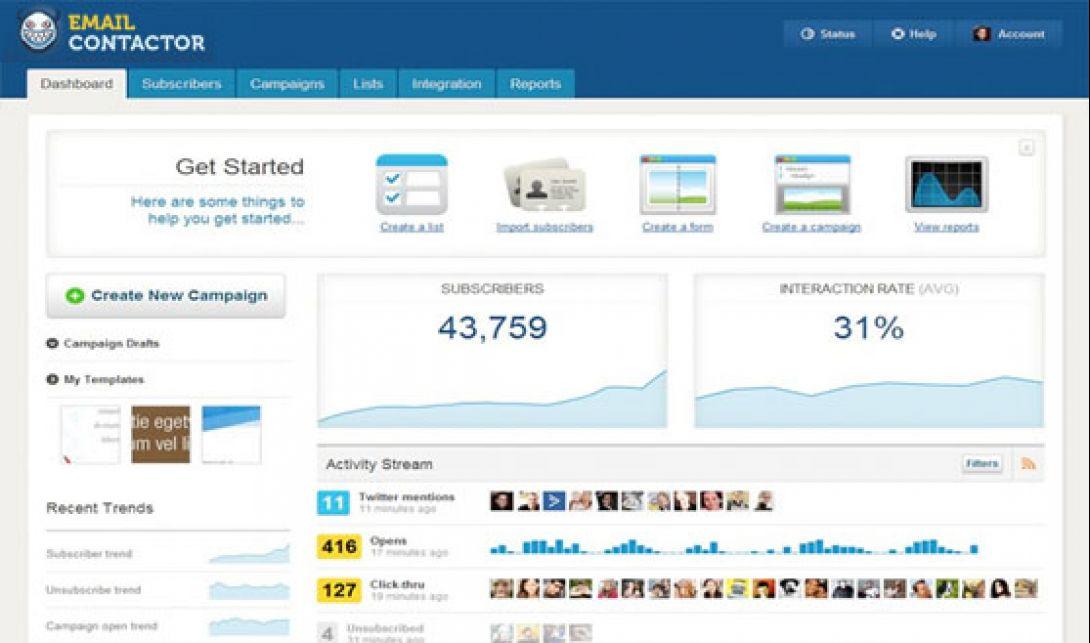 emailContactor.com version 5.4 - 1