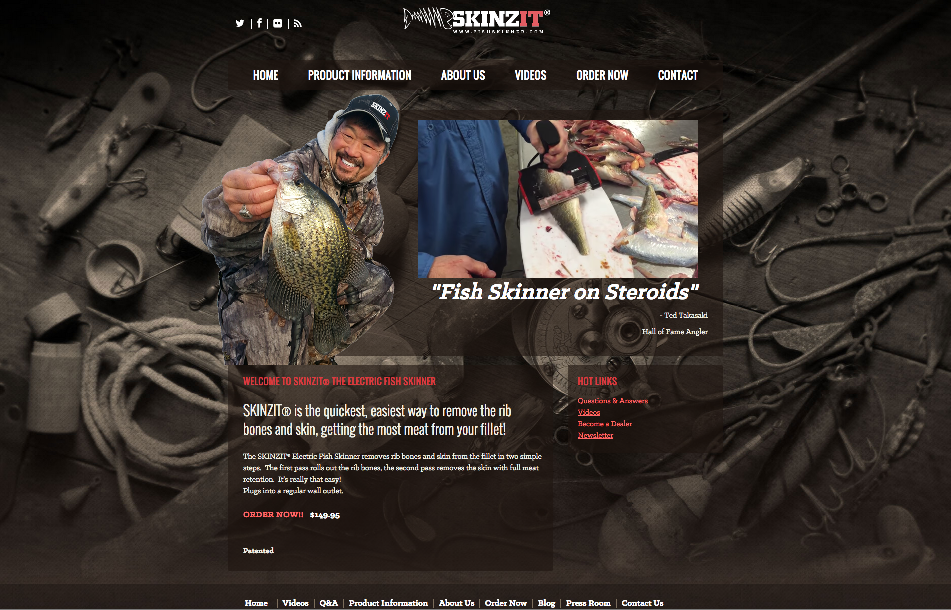 Omaha media group for Skin it fish skinner