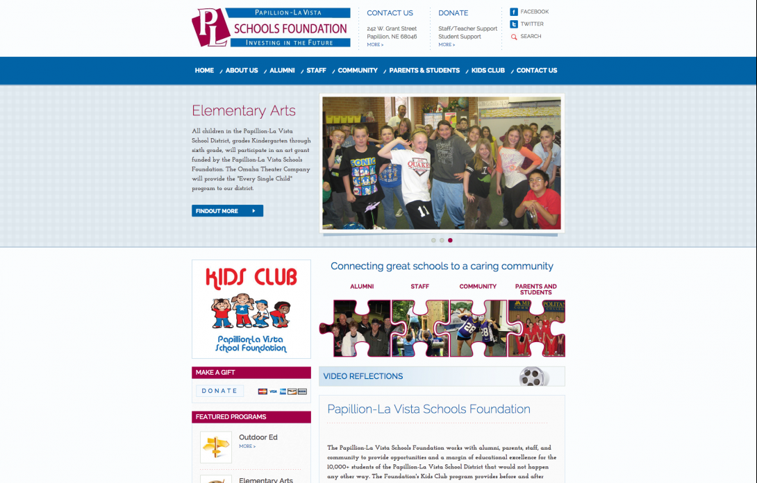 Papillion-La Vista Schools Foundation, 2014 - 1