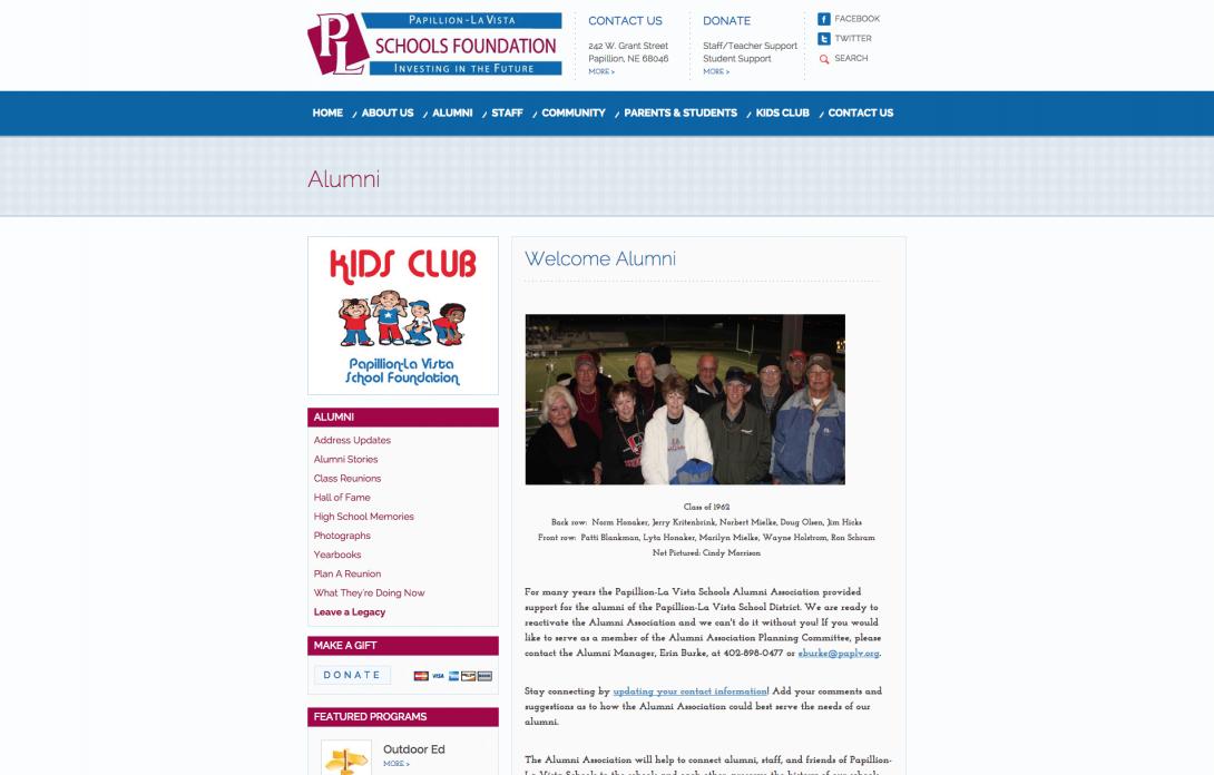 Papillion-La Vista Schools Foundation, 2014 - 3