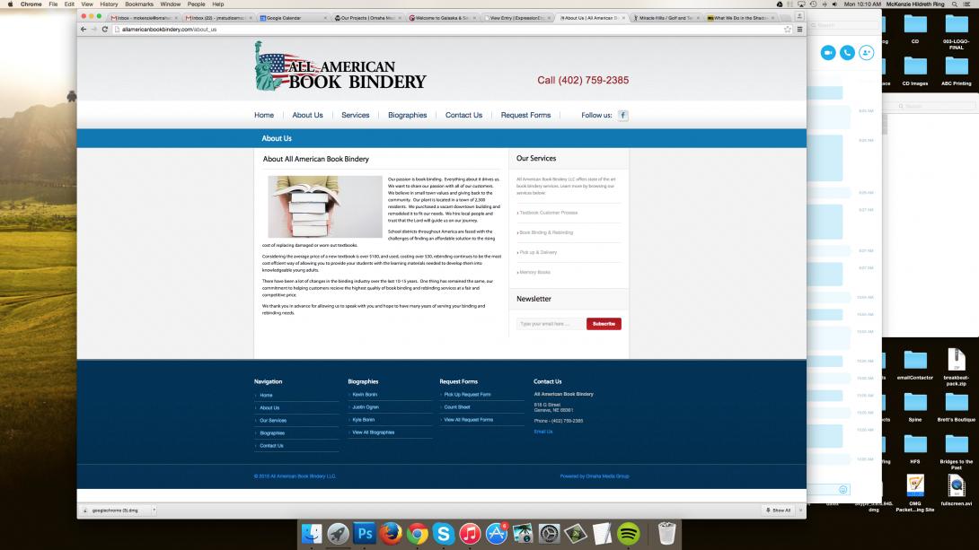 All American Book Bindery, Inc. - 3