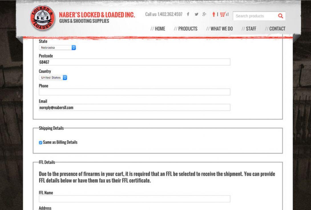 Naber's Locked & Loaded - 6