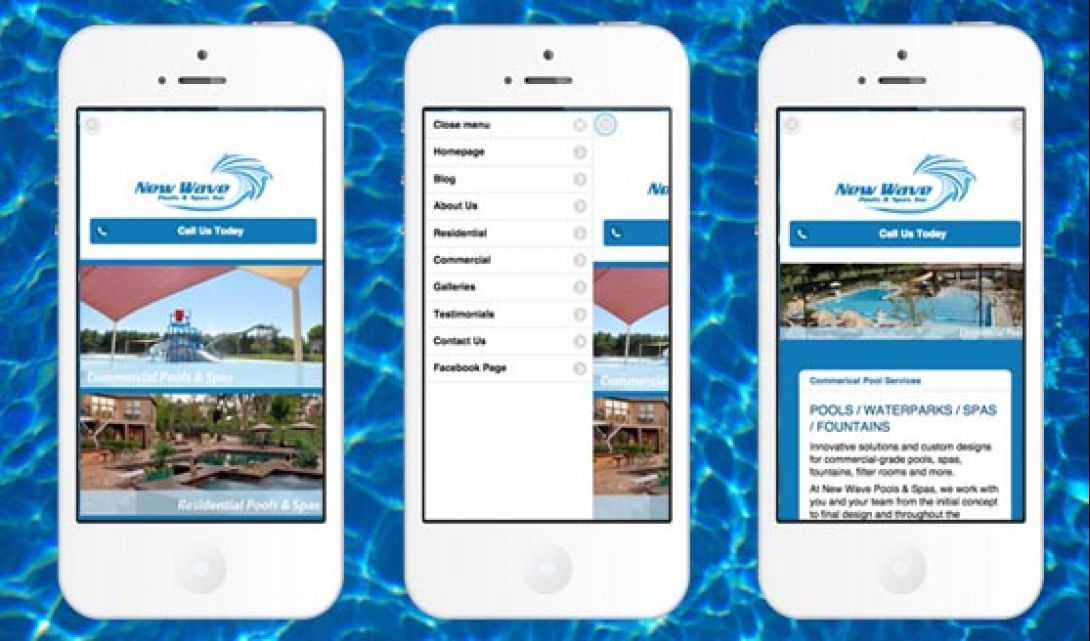 New Wave Pools & Spas Mobile - 1
