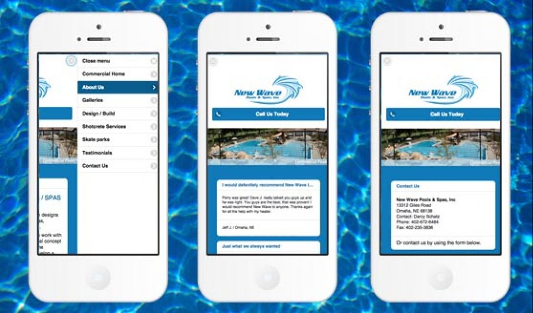 New Wave Pools & Spas Mobile - 2