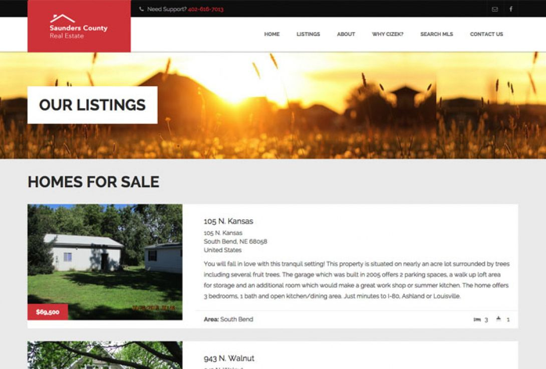 Saunders County Real Estate - 2