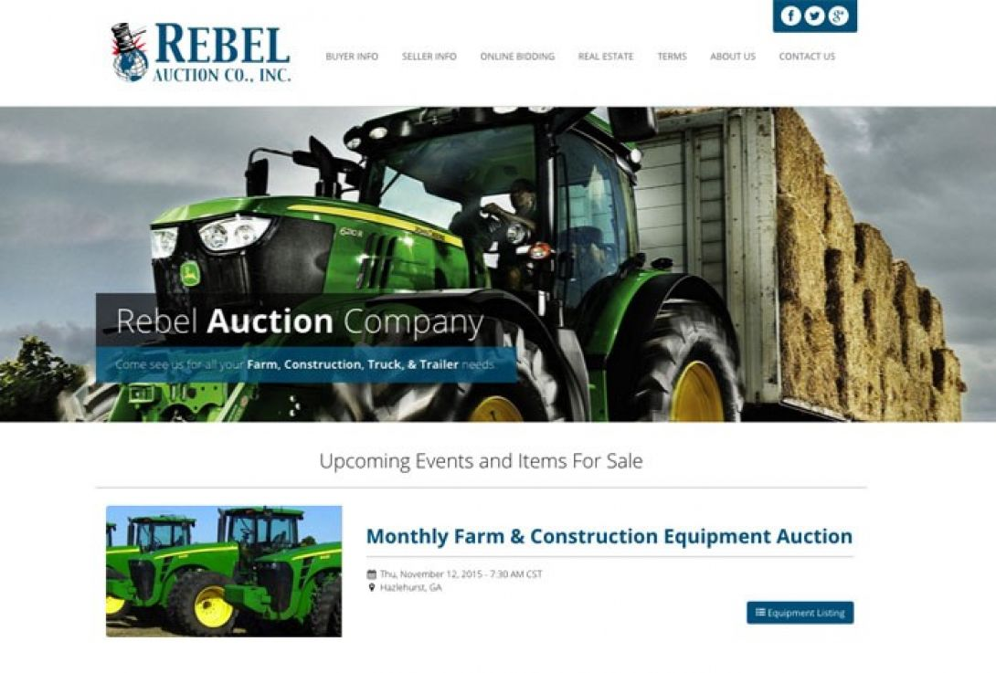 Rebel Auction Company - 1