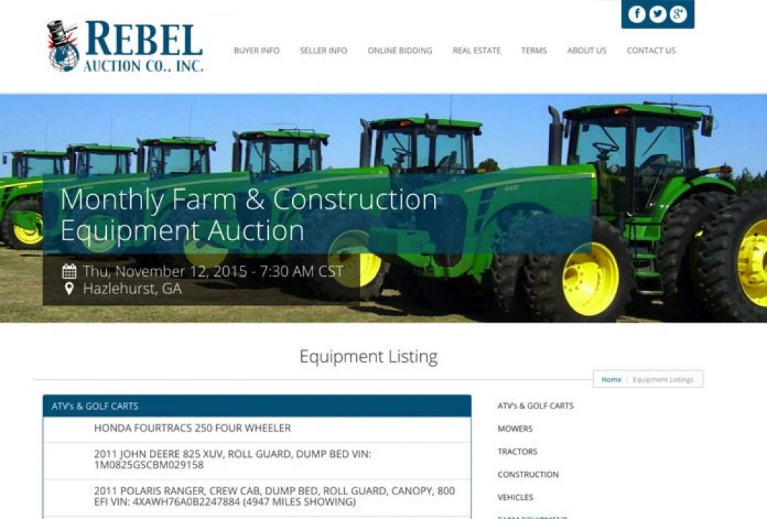 Rebel Auction Company - 2